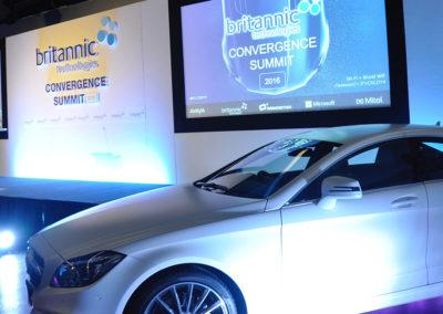 Launch event at  Mercedes Benz World