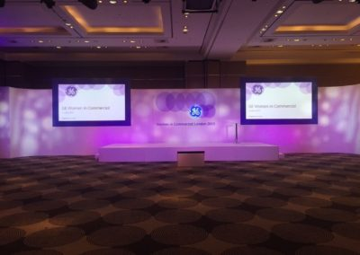 Conference set at The Sofitel Heathrow