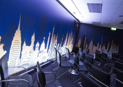 Large format wall graphics - Horsley Towers